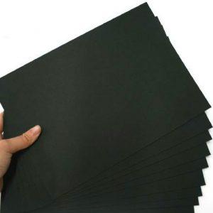 High-quality-50pcs-font-b-A3-b-font-A4-font-b-black-b-font-cardboard-font