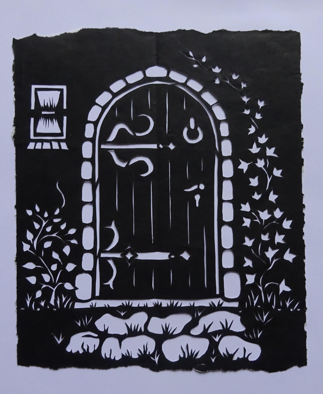 Romantisch poortje
